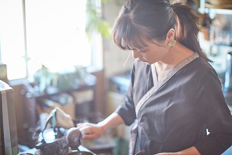 日本茶インストラクター・岩井利恵さん